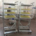 Carrelli personalizzati per la lean production